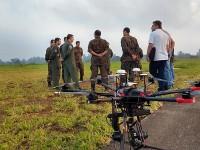FAB testa uso de aeronaves remotamente pilotadas