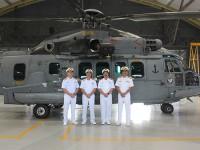 Marinha recebe primeira aeronave