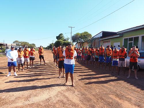 Capitania Fluvial do Araguaia-Tocantins realiza curso de formação de aquaviários