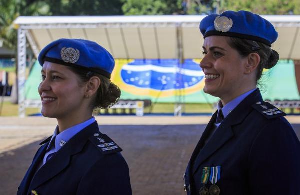 Conheça as histórias de duas militares da FAB que serviram em Missões de Paz