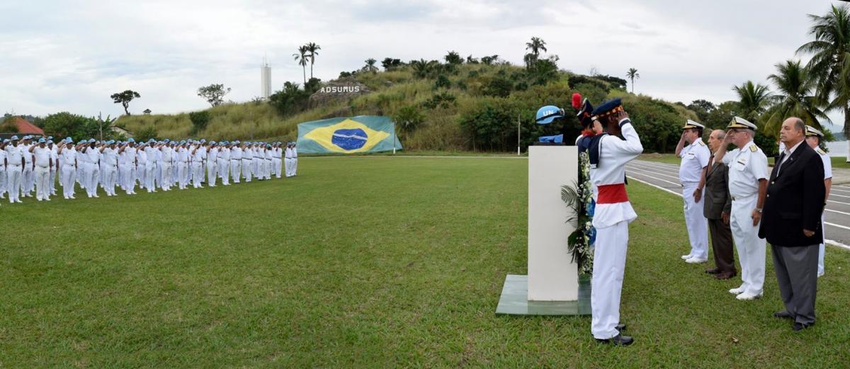 Dia Internacional dos Mantenedores da Paz é comemorado no Rio de Janeiro