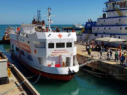 Empresa Gerencial de Projetos Navais gerencia construção de barco hospital
