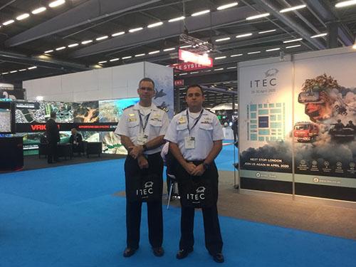 Marinha do Brasil e PUC-Rio apresentam artigo em Conferência Internacional de Simulação e Treinamento Militar na Suécia