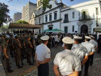 Marinha do Brasil participa das homenagens