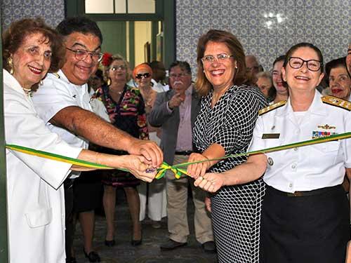 Sociedade Brasileira de Belas Artes realiza abertura do XXXVIII Salão Marinha do Brasil