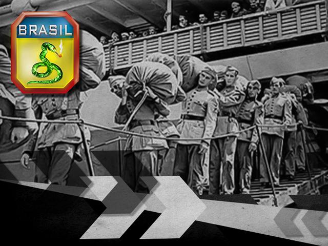75 anos do desembarque da Força Expedicionária Brasileira em solo italiano