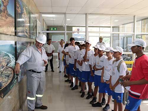 Capitania Fluvial do Araguaia-Tocantins realiza atividades complementares para alunos do Programa Forças no Esporte
