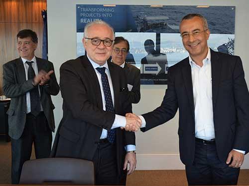 Empresa Gerencial de Projetos Navais assina Acordo com SENAI CIMATEC