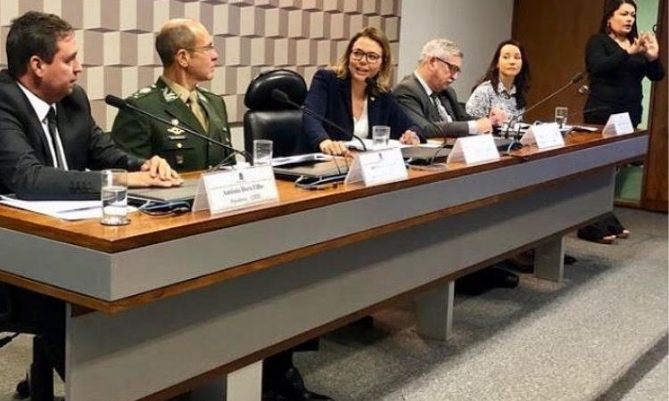 Ministério da Defesa participa de discussão do Plano Nacional de Esporte em Audiência Pública no Senado
