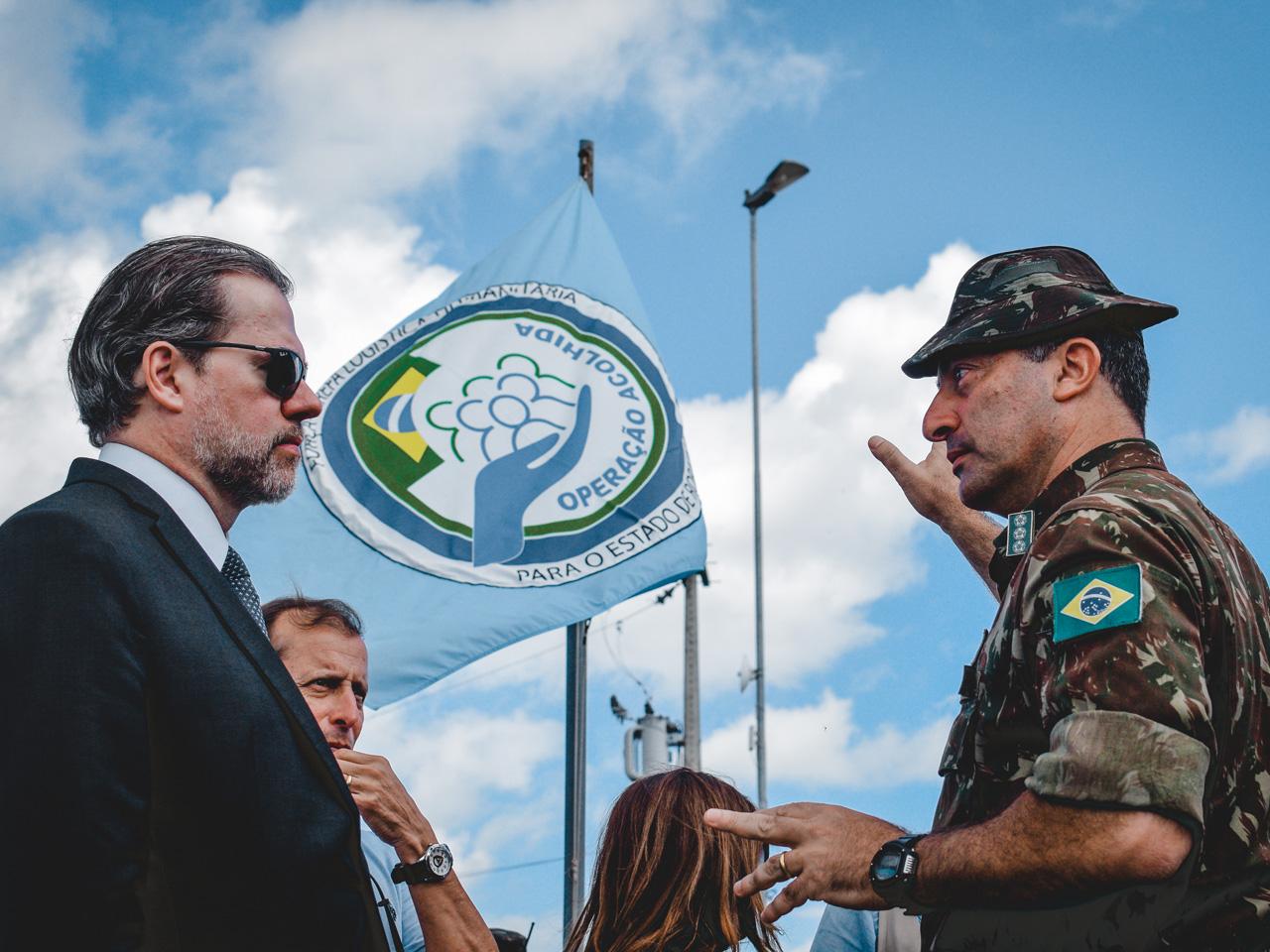 Presidente do Supremo Tribunal Federal (STF) acompanha ações de apoio humanitário em Roraima