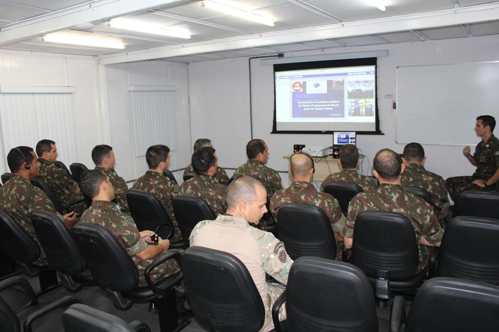 CCOPAB realiza Videoconferência com especialista da ONU em Ação contra Minas