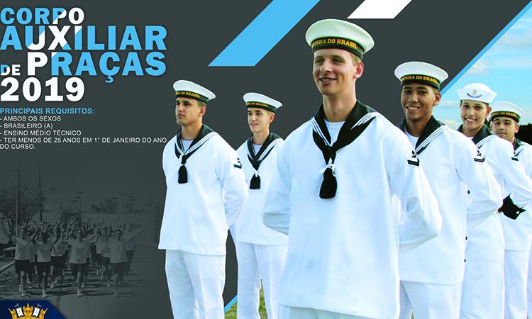 Concurso para nível médio técnico da Marinha está com inscrições abertas
