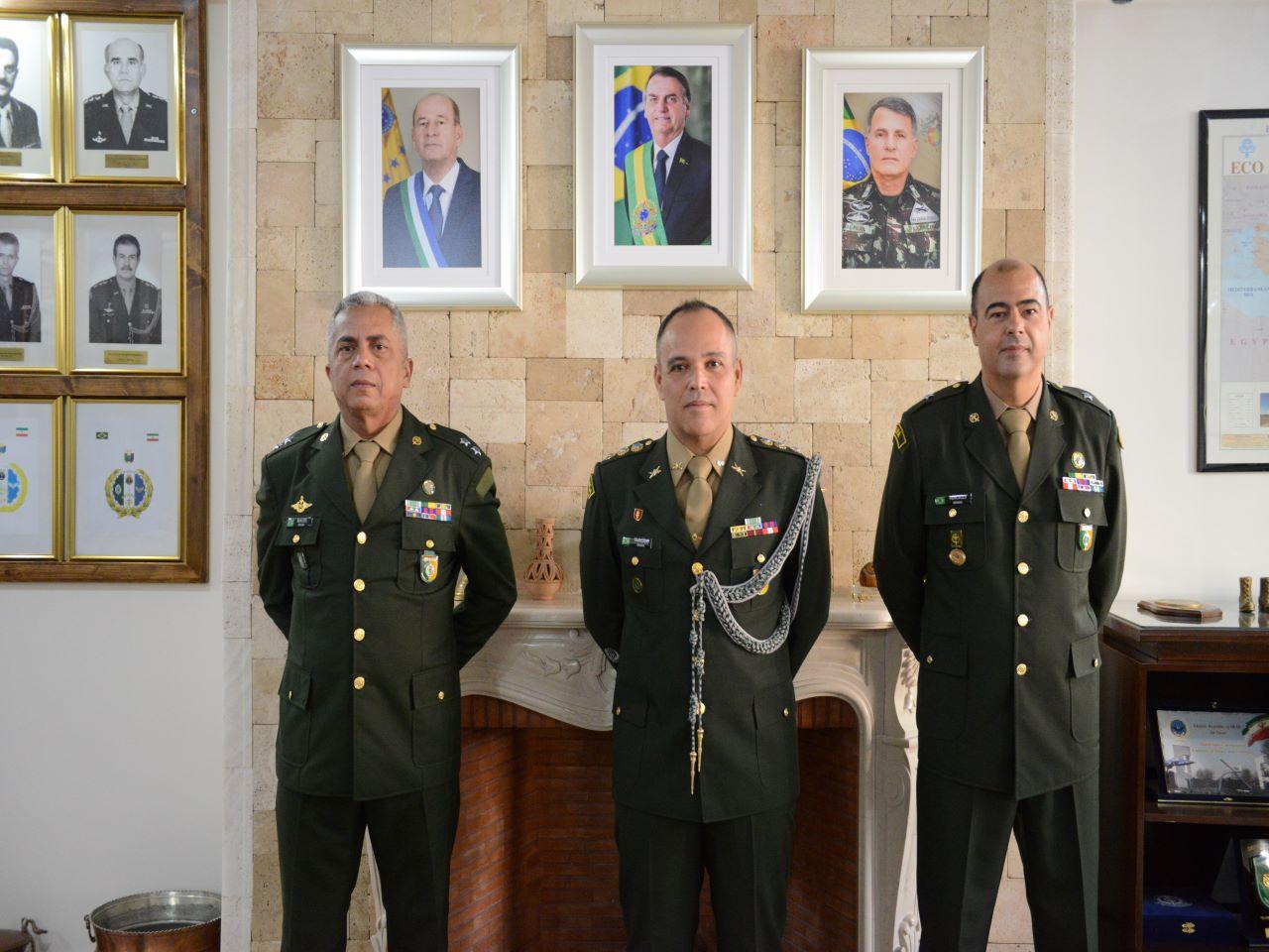Aditância de Defesa, Naval, do Exército e Aeronáutica do Brasil no Irã tem novo Adjunto