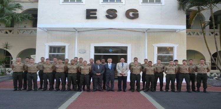 ESG promove Semana de Geopolítica para Cadetes da AMAN