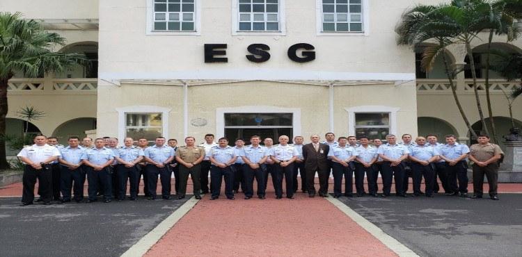 ESG recebe comitiva da Escola Superior de Guerra Aérea do Peru