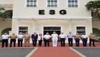 ESG recebe visita do Comandante do Comando Sul dos EUA