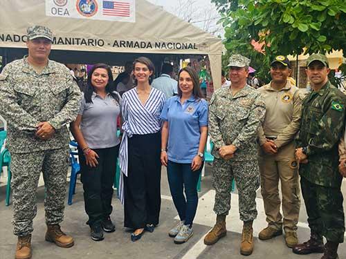 Fuzileiros Navais da Marinha do Brasil auxiliam na liberação de terras da ameaça de minas antipessoal na Colômbia