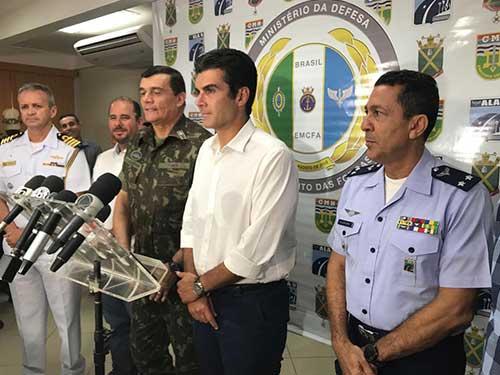 Marinha participa de reunião para ativação do Comando Conjunto Norte no combate às queimadas na Amazônia