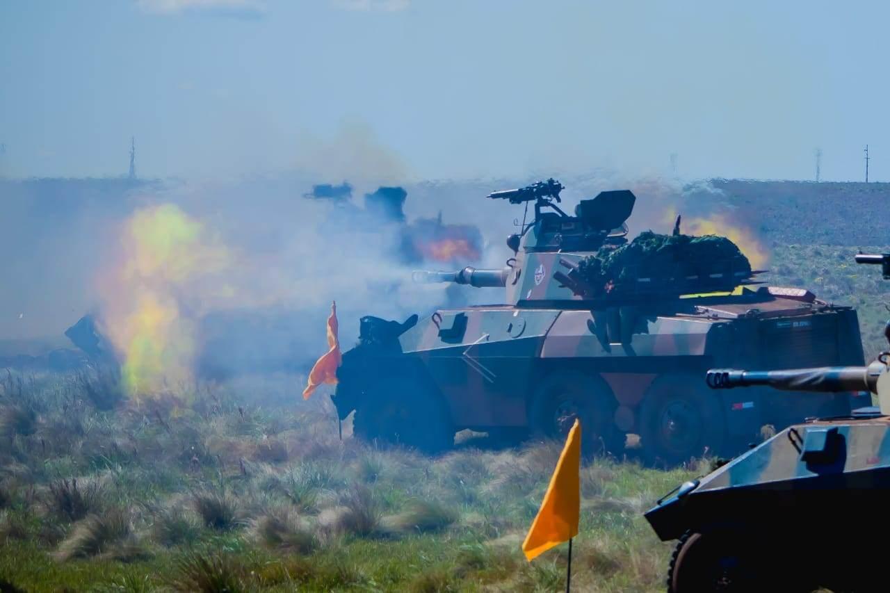 19º Regimento de Cavalaria Mecanizado participou de exercício combinado entre Brasil e Argentina