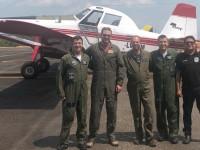 Aeronaves Chilenas pousam no Campo de Provas Brigadeiro Velloso
