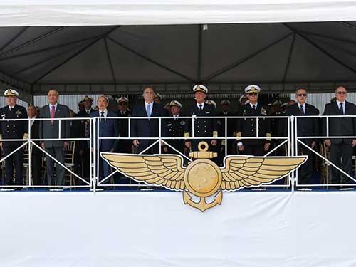 Comando da Força Aeronaval comemora os 103 anos da Aviação Naval