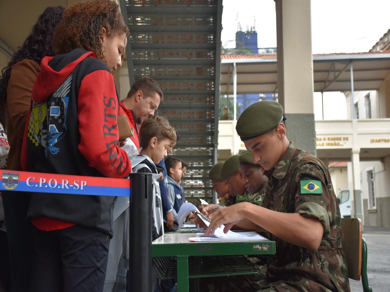 Colégio Militar de São Paulo realiza primeiro concurso de admissão ao 6º ano do Ensino Fundamental