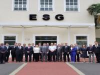 ESG recebe visita