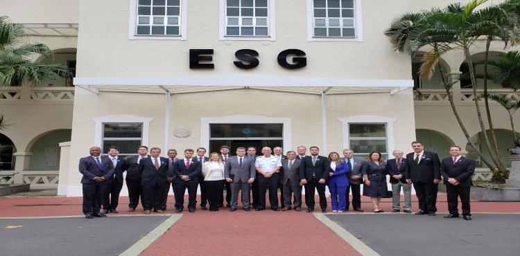 ESG recebe visita da ADESG de Ribeirão Preto