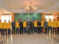 Ministro da Defesa recebe atletas do Programa Atletas de Alto Rendimento