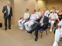 Ministro da Defesa visita Empresa Gerencial de Projetos Navais no Rio de Janeiro