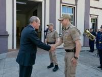 Ministro da Defesa visita o Quartel do Comando Geral