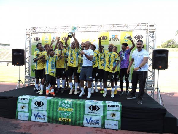 Time PROFESP de Salvador é campeão sub-15 da Série Prata da Taça Band