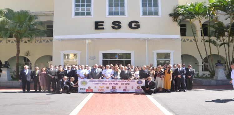 ADESG de São Paulo visita a ESG