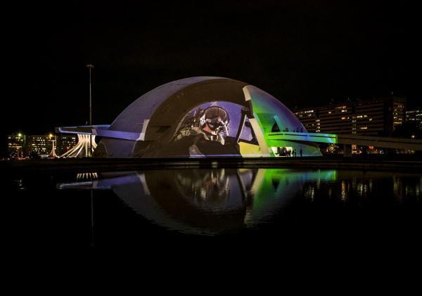 Mais de 6.000 pessoas visitam exposição da FAB em Brasília