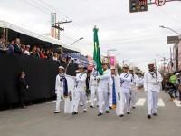 Marinha participa de desfile