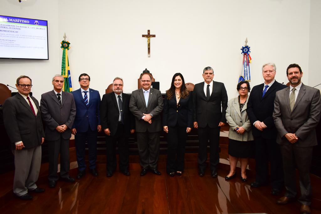 Tribunal Marítimo realiza cerimônia de posse de Juízes Suplentes
