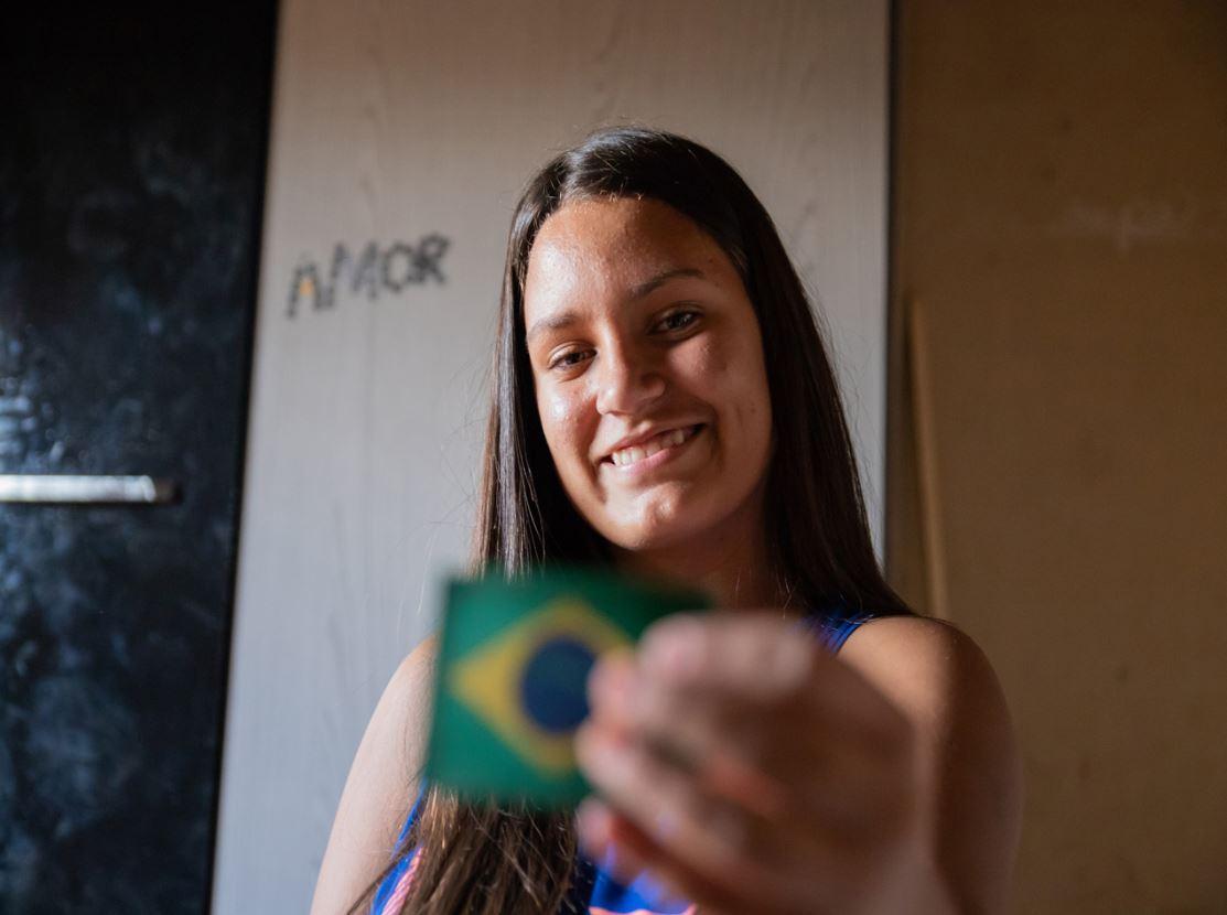 """Estudante de Aguaí escreve carta agradecendo ao Exército: """"Vocês são a segurança do Brasil"""""""