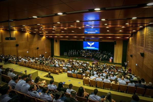 Músicos da Ala 1 se apresentam em comemoração ao Dia do Aviador e da Força Aérea