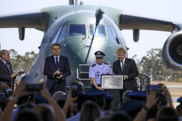 Anunciado o nome da nova aeronave multimissão da FAB: KC-390 Millennium
