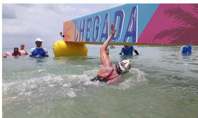 Atletas das Forças Armadas são campeões da etapa de Inema do Campeonato Brasileiro de Maratona Aquática