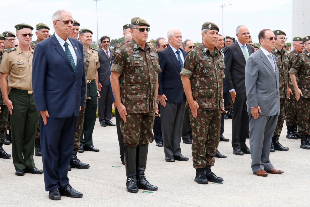 Estado-Maior do Exército celebra seu 123º aniversário de criação, com a presença do Comandante do Exército