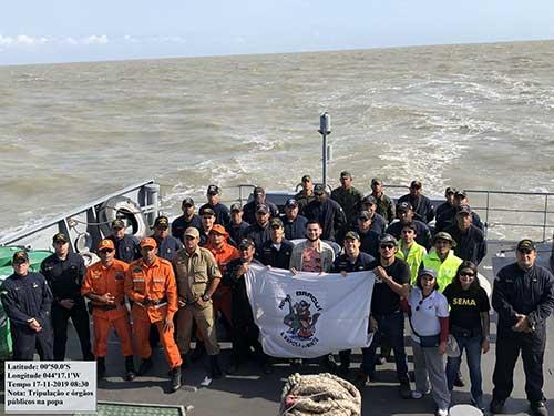 Capitania dos Portos do Maranhão realiza inspeção para verificar existência de óleo