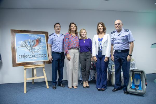Comandante da Aeronáutica participa de evento da SOMAERO em São Paulo (SP)