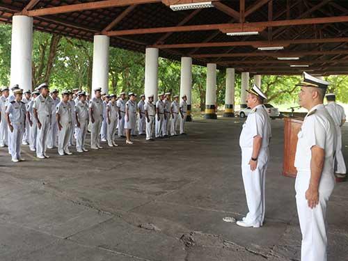 Comando do 4º Distrito Naval comemora o Armistício da Primeira Guerra Mundial