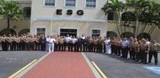 ESG recebe comitiva do Centro de Altos Estudos do Peru