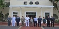 ESG sedia seminário com escola de Defesa de Portugal