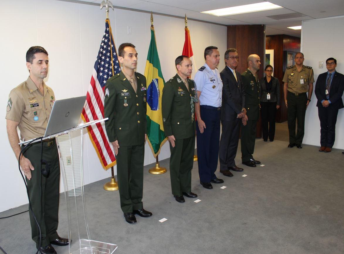 Aditância do Exército nos Estados Unidos recebe novo integrante
