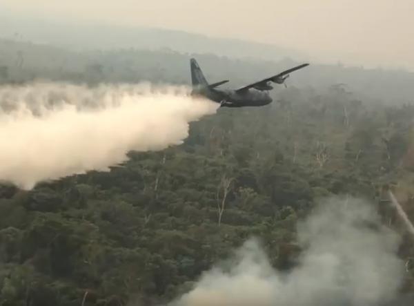 FAB somou cerca de 900 horas de voo em ações de combate a incêndios na Amazônia