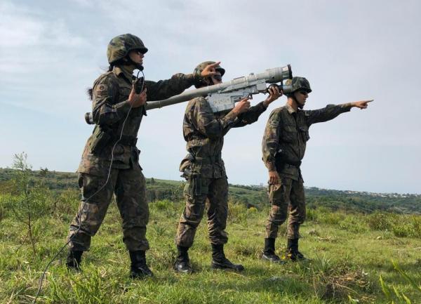 FAB treina Defesa Antiaérea em Exercício Conjunto com Marinha e Exército