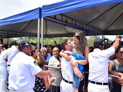 """Fragata """"União"""" regressa ao Rio de Janeiro-RJ após nove meses em operação"""